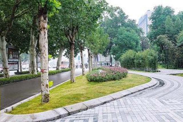 拆围后的郑州紫荆山公园亮相 是你期待的公园城市吗?