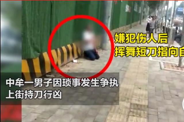 嫌犯因琐事持刀伤人 中牟民警迅速反应当场制伏