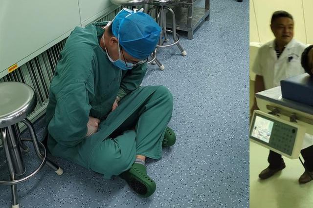 心疼! 洛阳医生强忍病痛为患者手术 术后被推进监护室