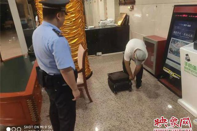 旅客行李箱遗失 郑州机场派出所民警1小时找回