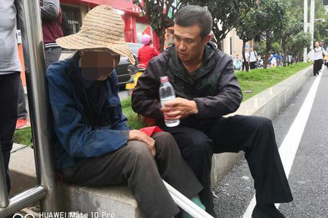 九旬老人受伤迷路 郑州交警多方努力助其与家人团聚