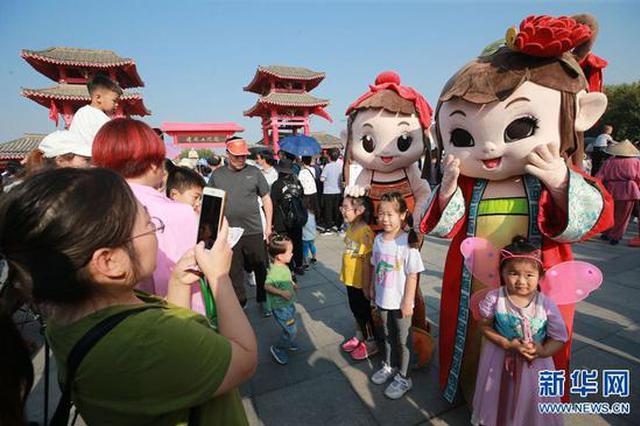 河南开封:国庆长假旅游热(图)