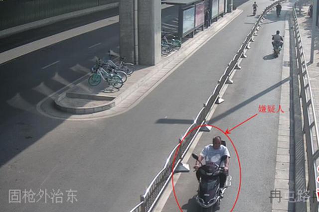 电动车主没拔钥匙 郑州男子起贪念顺手牵羊被刑拘