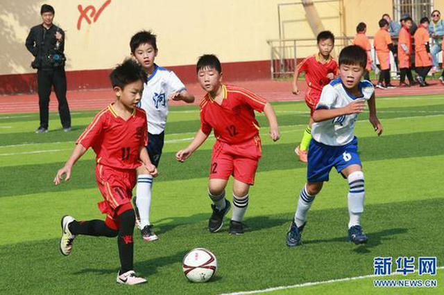 河南开封:校园足球促青少年成长(图)