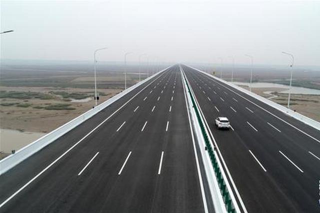 国道107河南官渡黄河大桥正式通车(图)