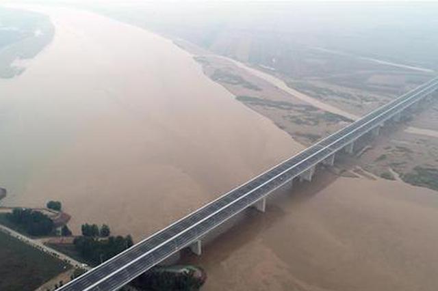 """黄河大桥建设密度见证中原百年发展""""加速度"""""""