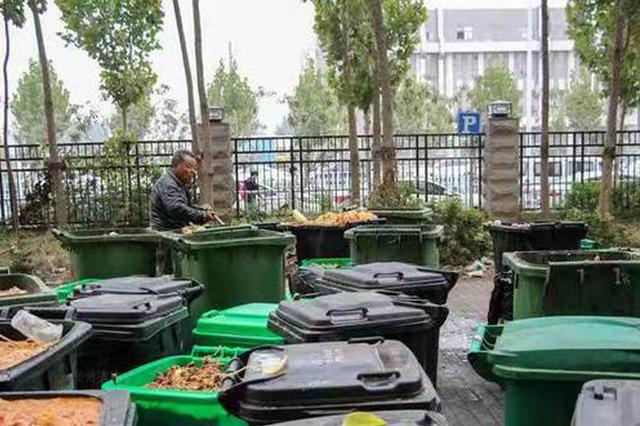 郑州高校垃圾曾堆积成山无人清理 学生:生活像流浪汉