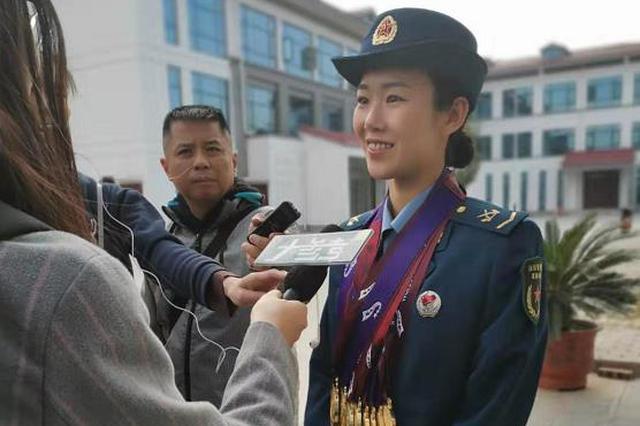 """这位河南姑娘了不起!军运会""""八冠王""""是这样炼成的…"""