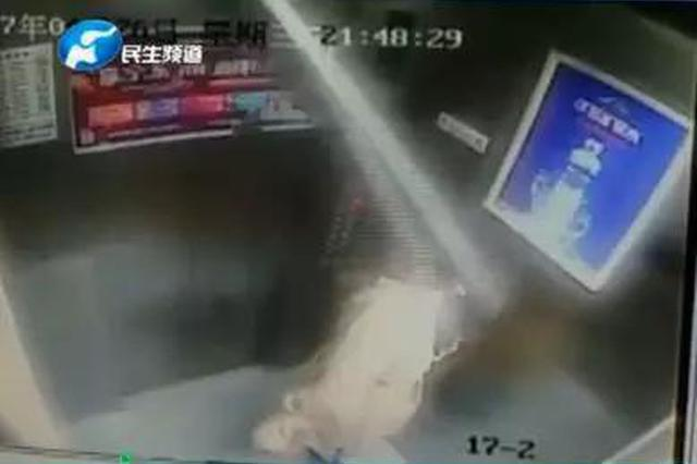 可怕!郑州女子坐电梯顶板从天而降 医院:颅脑损伤