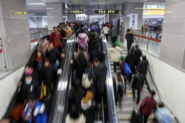郑州地铁河南大学新区站 今天上午10点正式启用