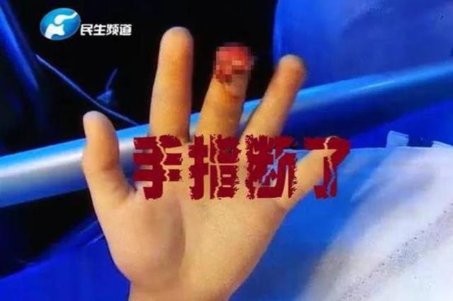 """郑州7岁男童手指被夹断 这个""""凶手""""几乎每个小区都"""