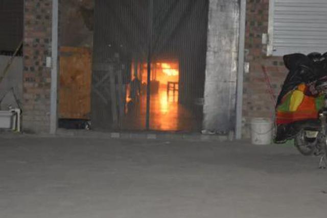 焦作一小区液化气着火引燃房间 这些安全知识你要知道
