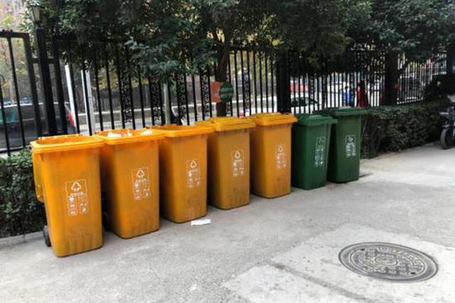小区的垃圾桶要没了! 郑州将试行定时定点扔垃圾