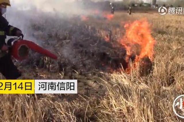 信阳19岁消防员灭火时突发疾病 灭完火被队友搀扶送医