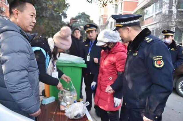 河南九成行政村生活垃圾得到有效治理
