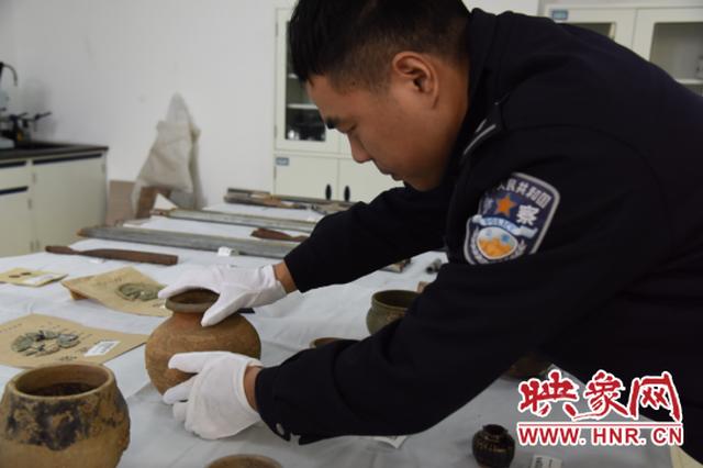 郑州警方破获韩王陵、宋陵等古墓葬被盗系列案