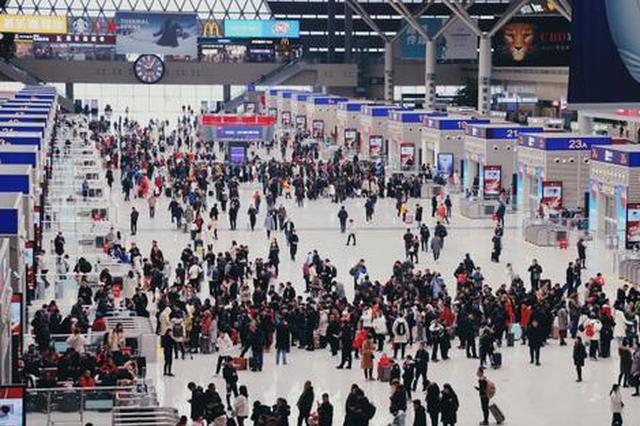 春运期间 郑州东站增开多趟高铁列车助力广大旅客出行