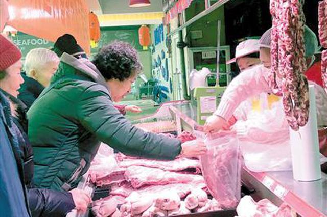 郑州储备肉蛋菜投放至21日 价格比市场便宜20%