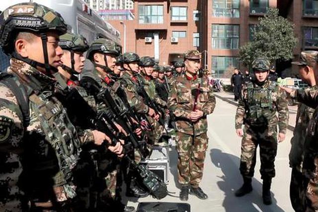 濮阳3名成人5名儿童被劫持 武警出动
