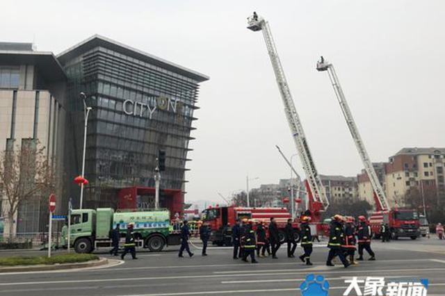 网传郑州熙地港着火 多辆消防车在现场?别慌!