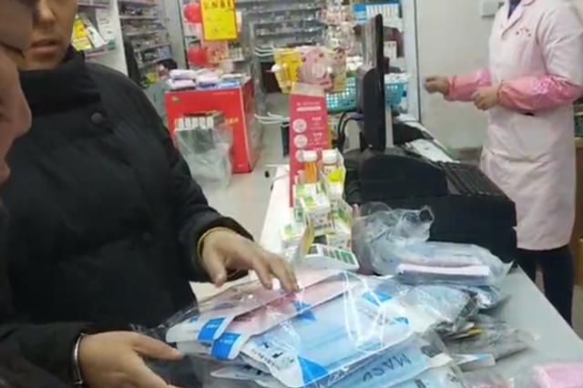 郑州多家药店口罩脱销抗病毒口服液销量激增 市民:预防疾病传