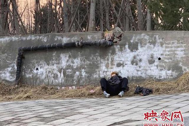 男子疑因与女友分手精神失常流浪郑州 疫情防控人员将其送到救