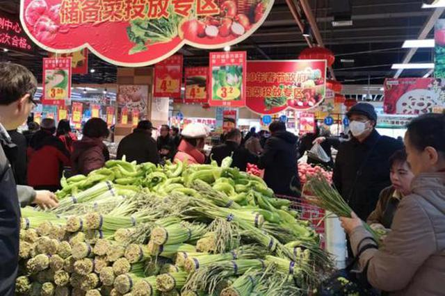 白菜1.2元/斤!今天下午郑州投放储备菜!这些地方都能买到