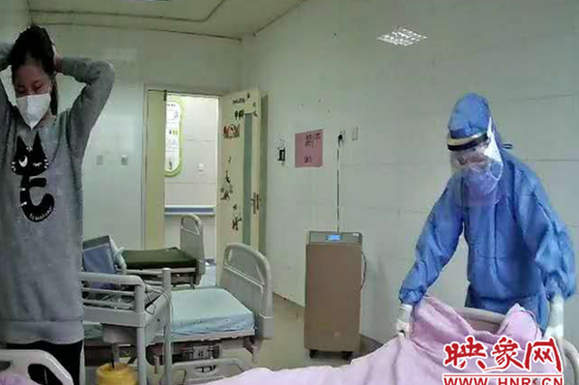 好消息!河南中医一附院11岁新冠肺炎患者治愈出院