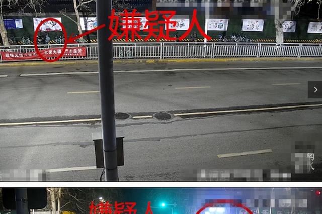"""郑州一女贼频繁盗窃手法老练 """"天眼""""追踪现出原形"""