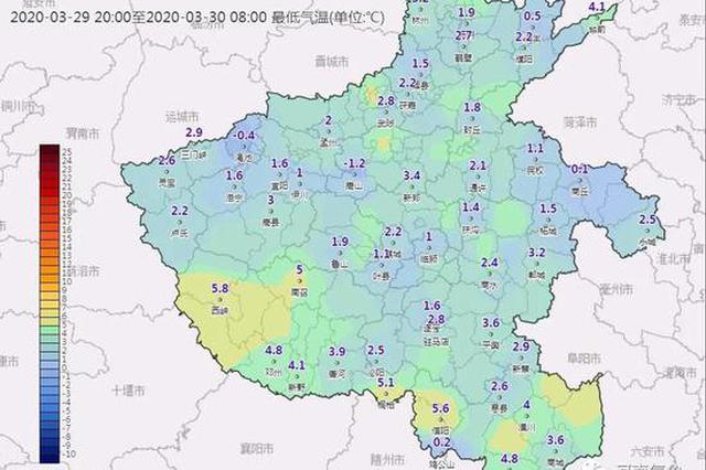 河南:新一股冷空气即将到货 4月3日起温暖回归