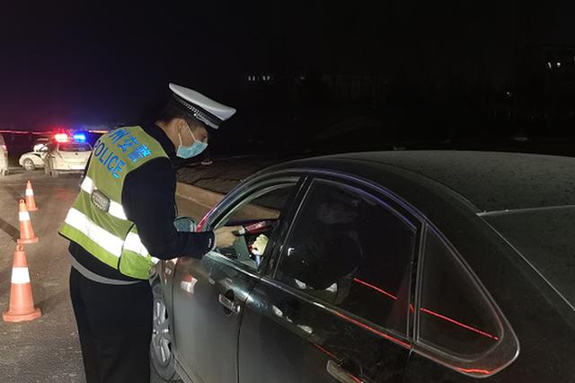 今年郑州交警将全年采取严查酒驾醉驾行动