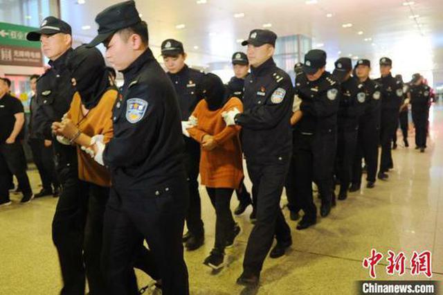 2019年郑州警方抓获逃犯5005人