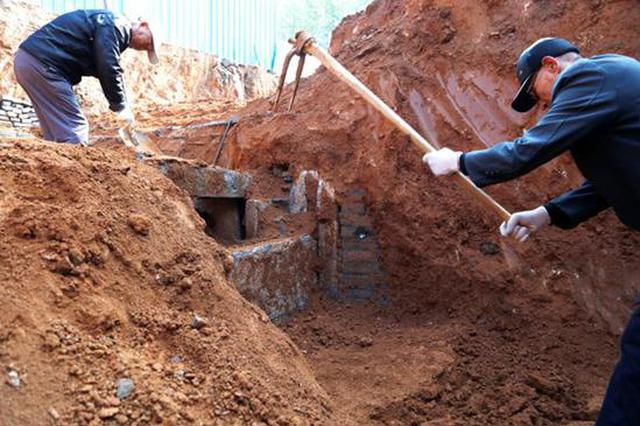 """洛阳施工工地发现明代墓葬 出土墓志显示主人是""""名门"""""""