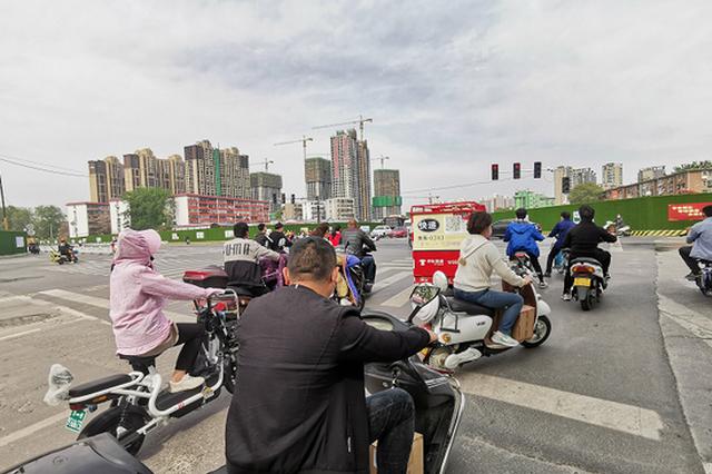 今年以来河南查处驾驶摩托车不戴头盔违法行为9901起
