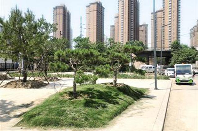 郑州多出一个体育公园 环境新模样 家园更美丽