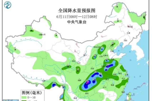 @河南人 大雨!暴雨!大暴雨!即将登场!郑州中到大雨!