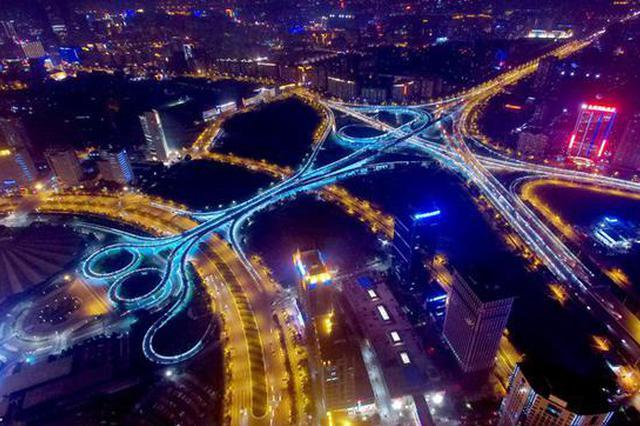 好消息!郑州市四环高架主线月底试通车
