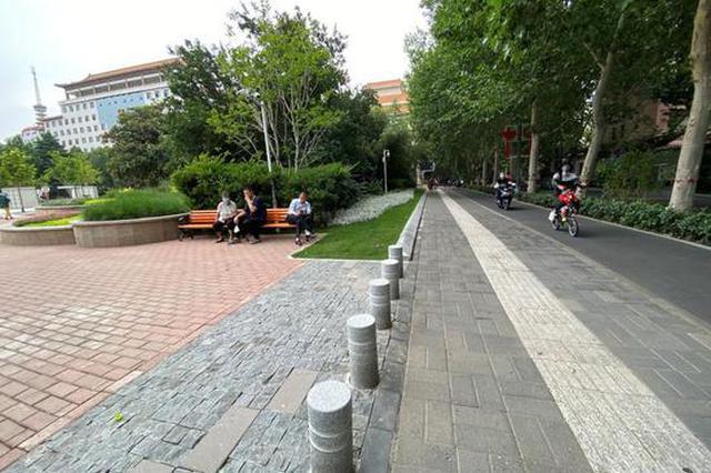 打卡郑州经一路:生活跟着环境美起来(图)