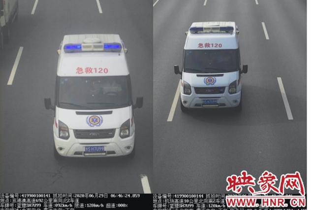 救护车司机未系安全带被罚 特种车辆更应遵守交通法规