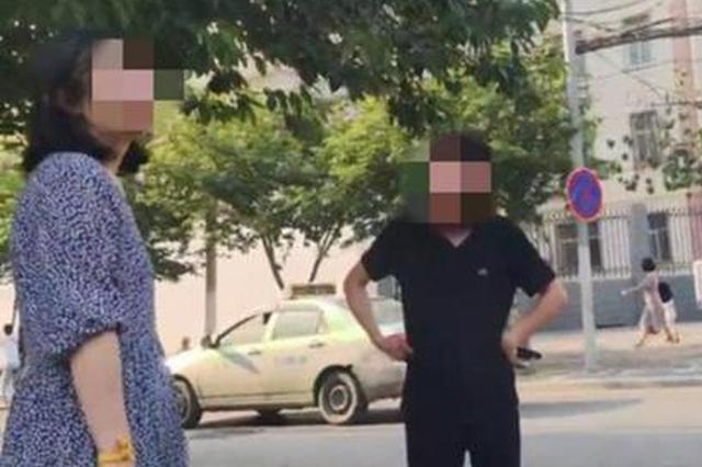 不愿与网友继续交往 郑州一女子当街被打一巴掌