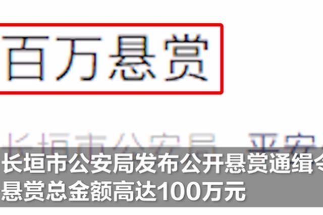 100万元等你来拿!河南这地发布百万悬赏令征集在逃人员线索