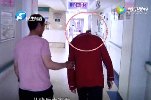 """郑州一医院走廊惊现""""无头人""""!真相让人意想不到"""