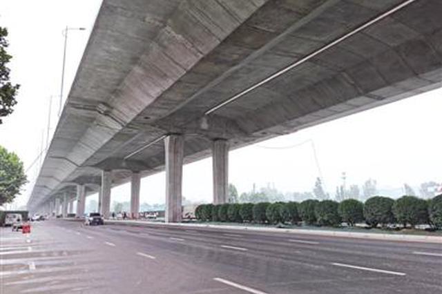 四环快速化更快 郑州市大河路地面主线道路试通车