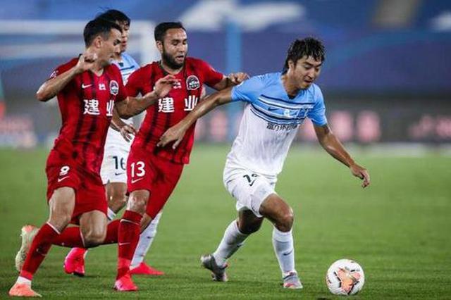 河南建业1-1战平富力 开局三轮不胜 冯博轩打进职业生涯首球