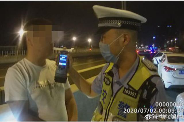 郑州交警曝光5起七月份酒驾违法犯罪行为典型案例