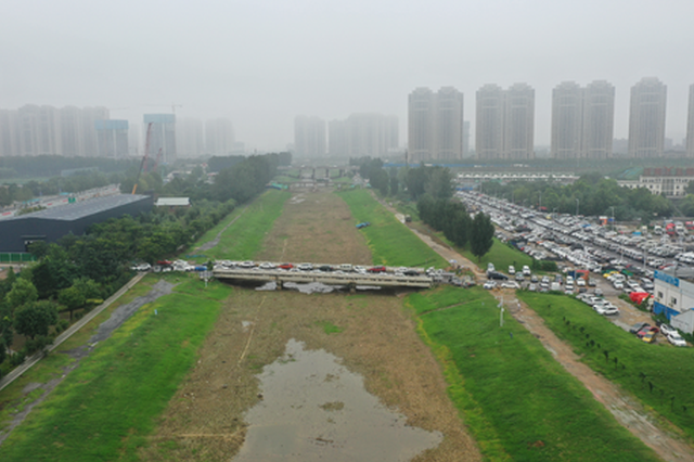 黄河水流量大了 为何郑州市区河道里水却少了?