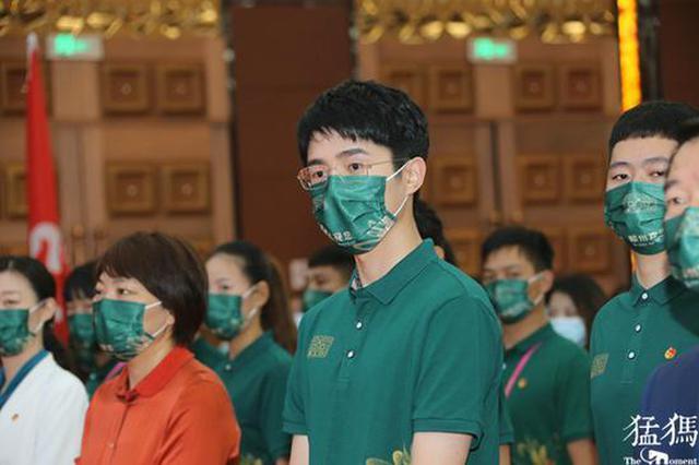 电影节青年志愿者出征 刘昊然现身宣誓(图)