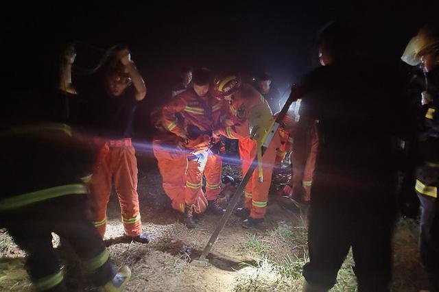 新乡消防四次下井打捞坠井女童 还是未能挽回女童生命
