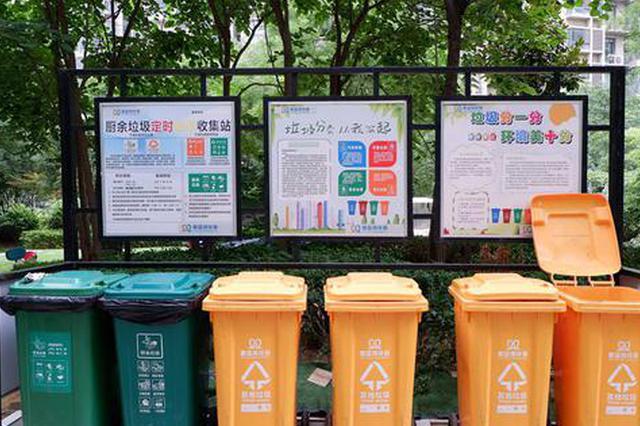 郑州出台三年行动方案 生活垃圾分类覆盖率年底达95%