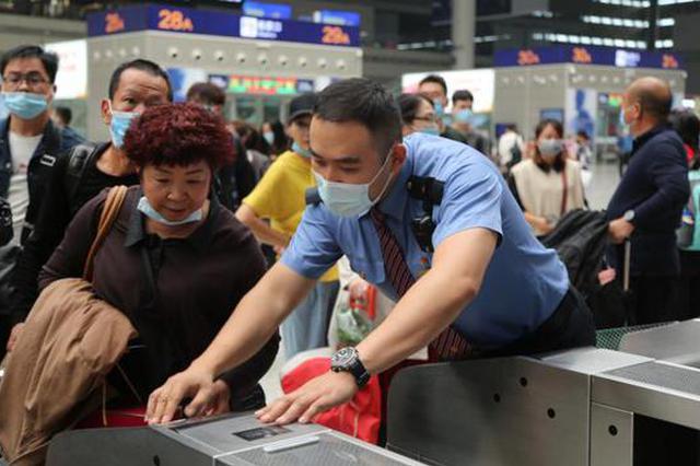 双节铁路运输收官 郑州东站单日客流最高18.6万人次